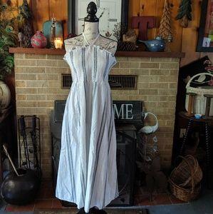 Old Navy mid high summer halter dress extra large